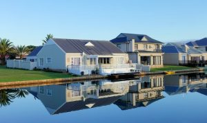 waterfront home